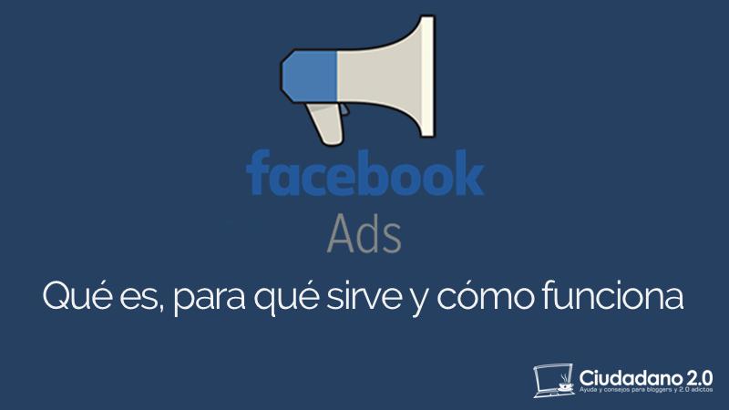 que es facebook ads