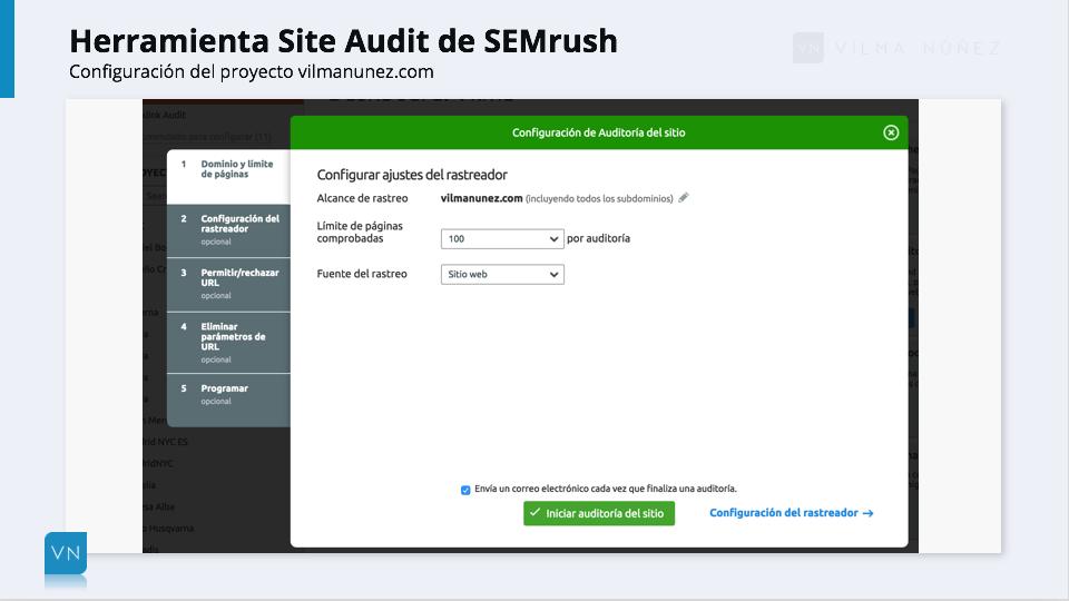 SEMrush - Site Audit