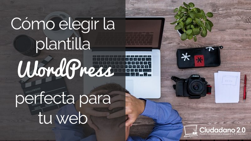 elegir plantilla wordpress perfecta