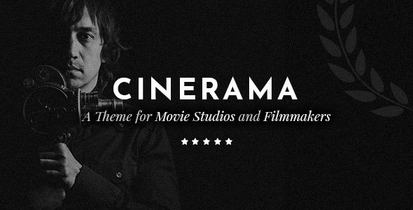 Cinerama WordPress Theme