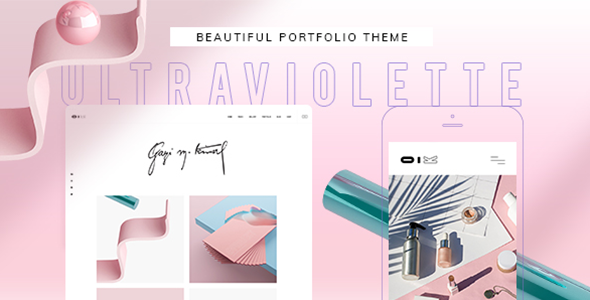UltraViolette WordPress Theme