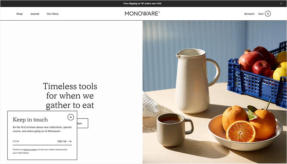 Monoware